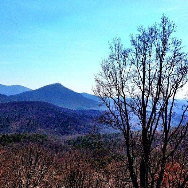 The beautiful North Georgia mountains!