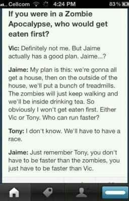 Poor vic :c