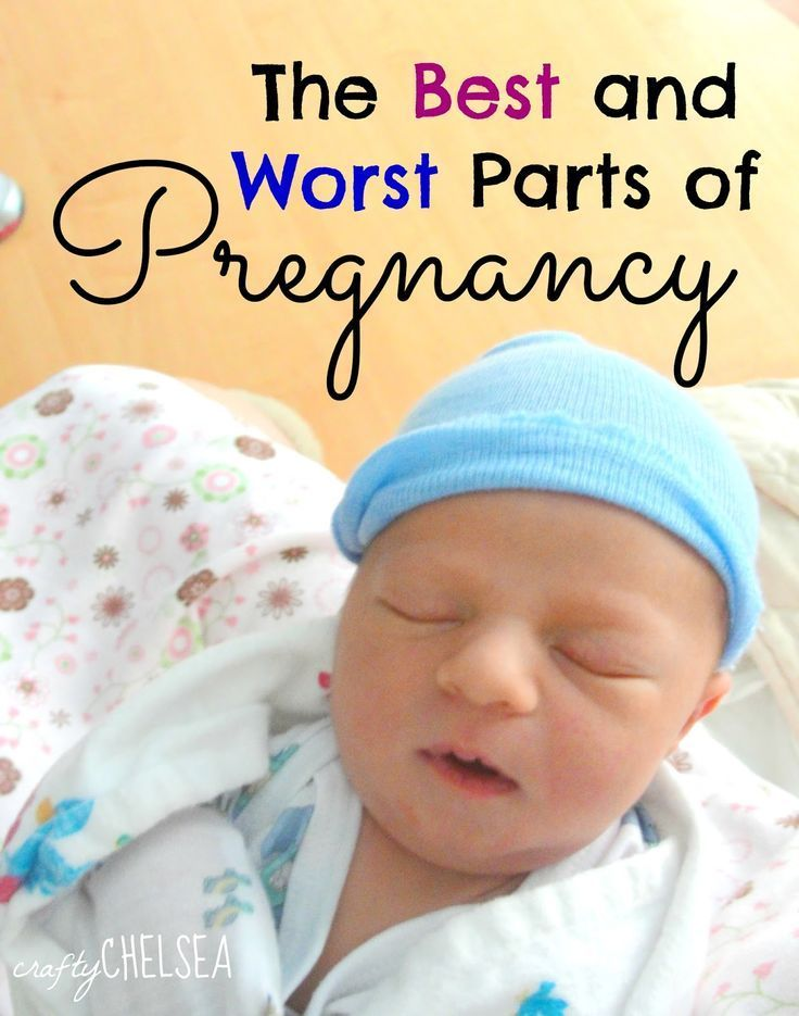 The Best and Worst Parts of Pregnancy: an honest, funny, and uplifting look at some of the weirdest 9 months of your life!