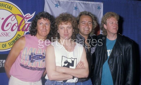 Foreigner attending 40th Anniversary of...