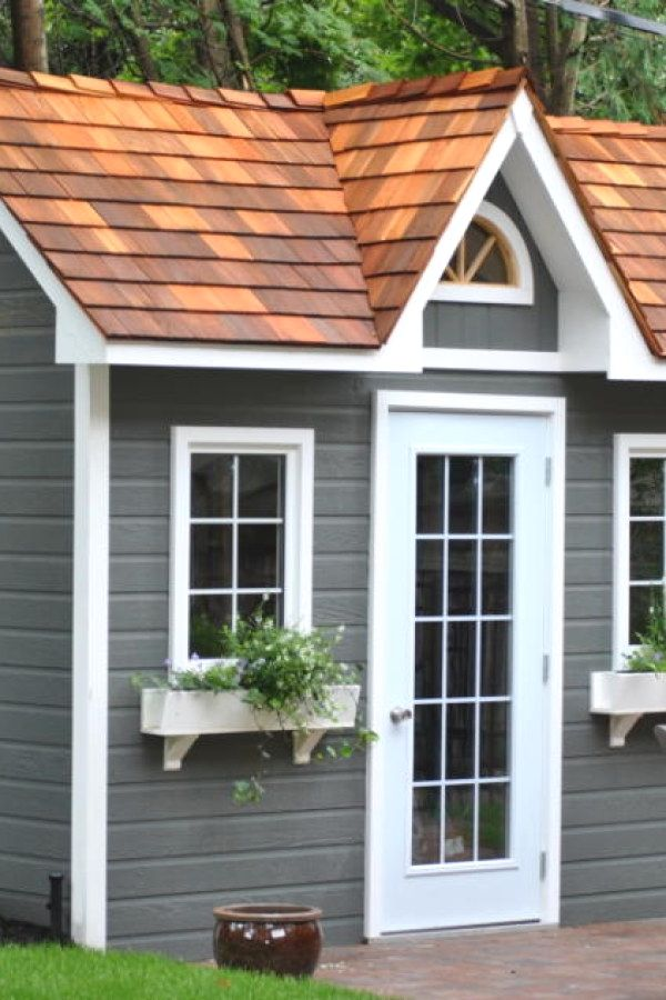 Easy Garden Shed transformation designs for your backyard outdoor - Potting Shed Designs