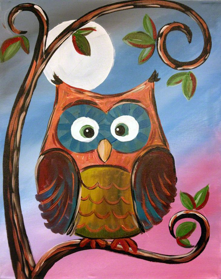 'Wise Old Owl' from Artsy U