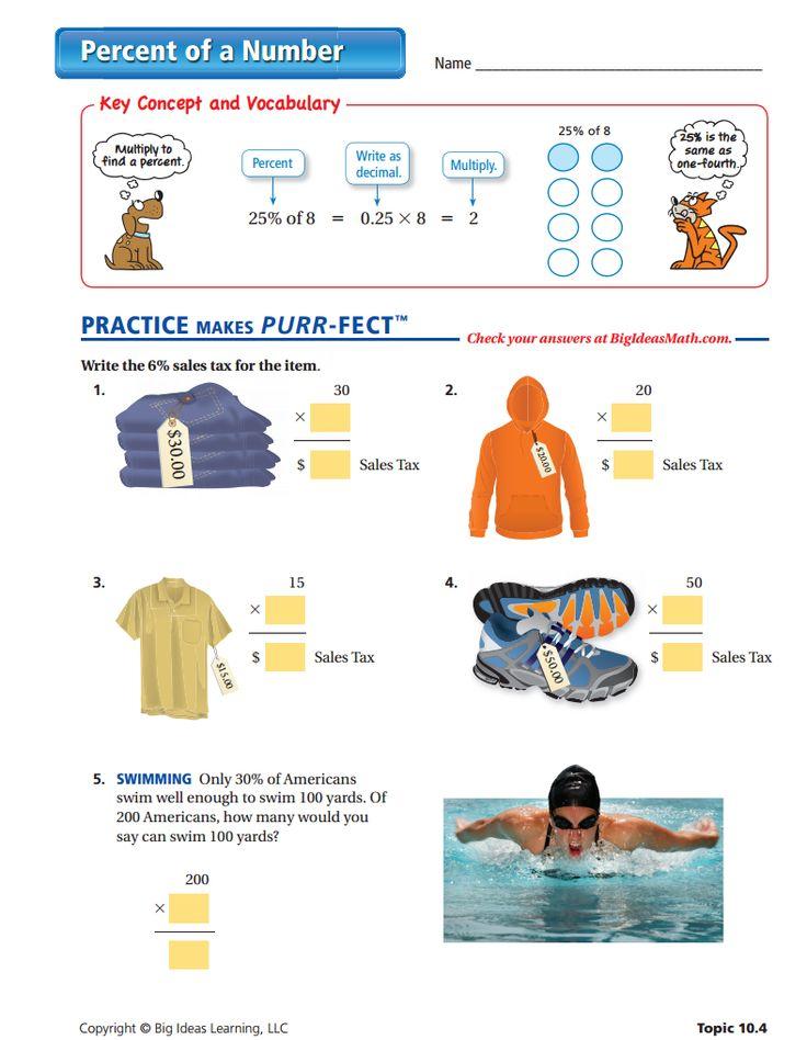 17 best images about percents middle school on pinterest middle school number worksheets. Black Bedroom Furniture Sets. Home Design Ideas