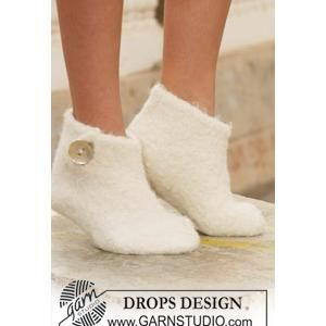 Felted Slipper FREE knitting pattern from Drops