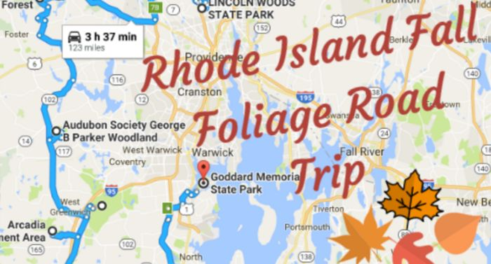 Take This Gorgeous Fall Foliage Road Trip To See Rhode Island Like Never Before