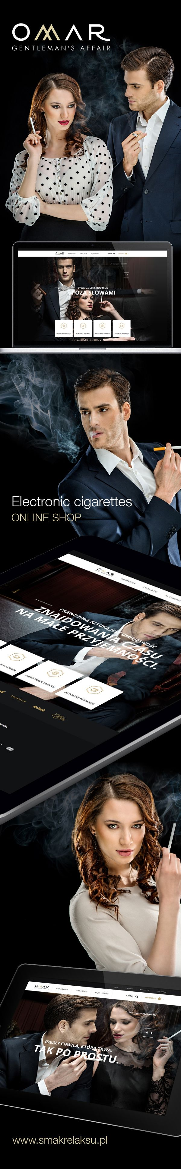 Omar Online Shop by www.pixelpr.net, via Behance