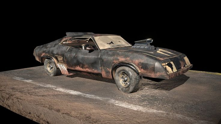 Mad Max Ford Falcon Interceptor by Woodengun