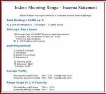 Shooting Range Plans - Indoor Shooting Range Drawings - Free documentation