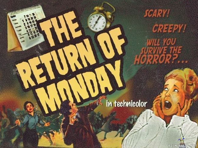 return of the monday