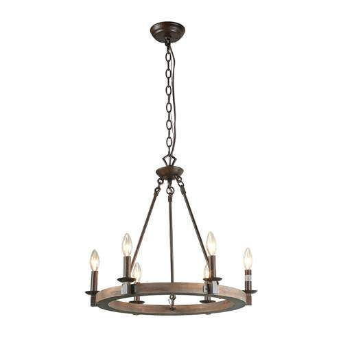 LNC 6-Light Transitional Chandelier Lighting