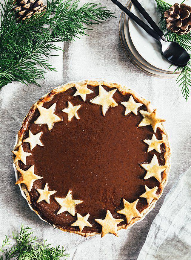 Thanksgiving Pumpkin Pie - The Food Club