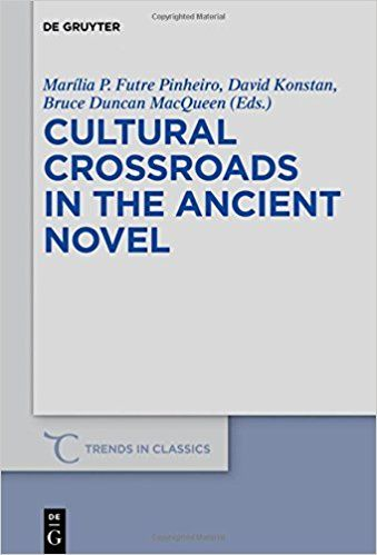Cultural crossroads in the Ancient Novel / edited by Marília P. Futre Pinheiro, David Konstan and Bruce Duncan MacQueen https://cataleg.ub.edu/record=b2236668~S1*cat The protagonists of the ancient novels wandered or were carried off to distant lands, the authors themselves came, or pretended to come, from remote places such as Aphrodisia and Phoenicia and the novelistic form had antecedents in a host of classical genres. These intersections are explored in this volume.