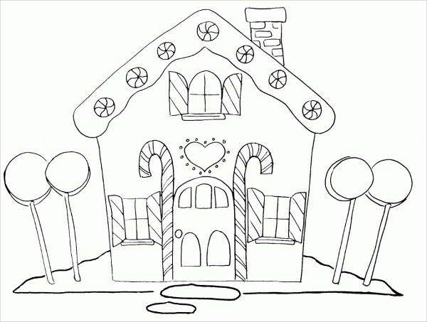 9 House Coloring Pages House Colouring Pages Christmas