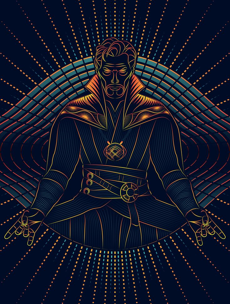 Doctor Strange Art Print by Nathan Owens