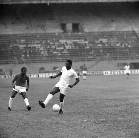 Pele at the San Siro, 1963.