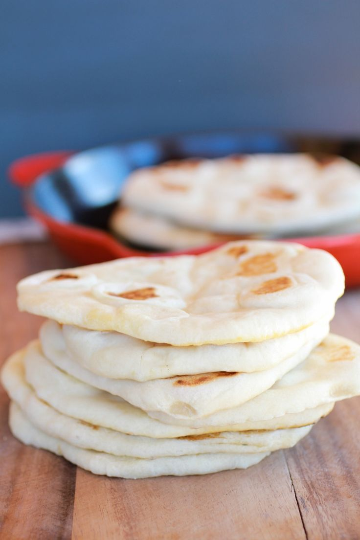 Traditional Greek Pita Bread: If you can make pizza dough, you can make these. Use whole wheat flour instead