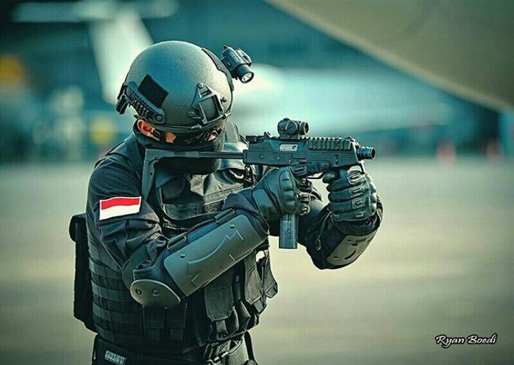 Indonesian Special Force personel