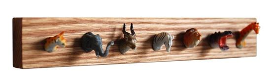 Perhaps the most perfect hanger ever? : Diy Coats, Animal Trophy, Coats Racks, Animal Head, Coats Hangers, Animal Toys, Animal Coats, Toys Animal, 10 Toys