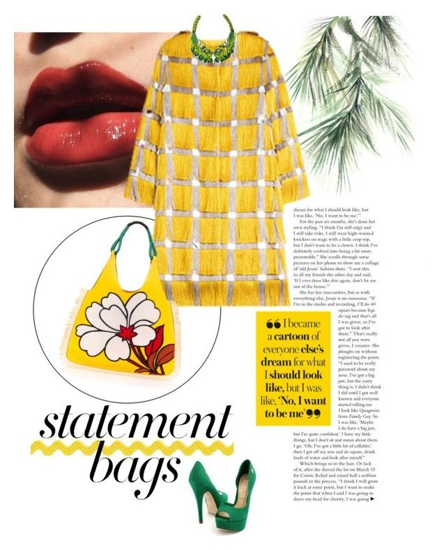 """Yellow Fever"" by reenz ❤ liked on Polyvore featuring Eco Style, Marco de Vincenzo, Marni, Radà, Carmen Steffens and statementbags"