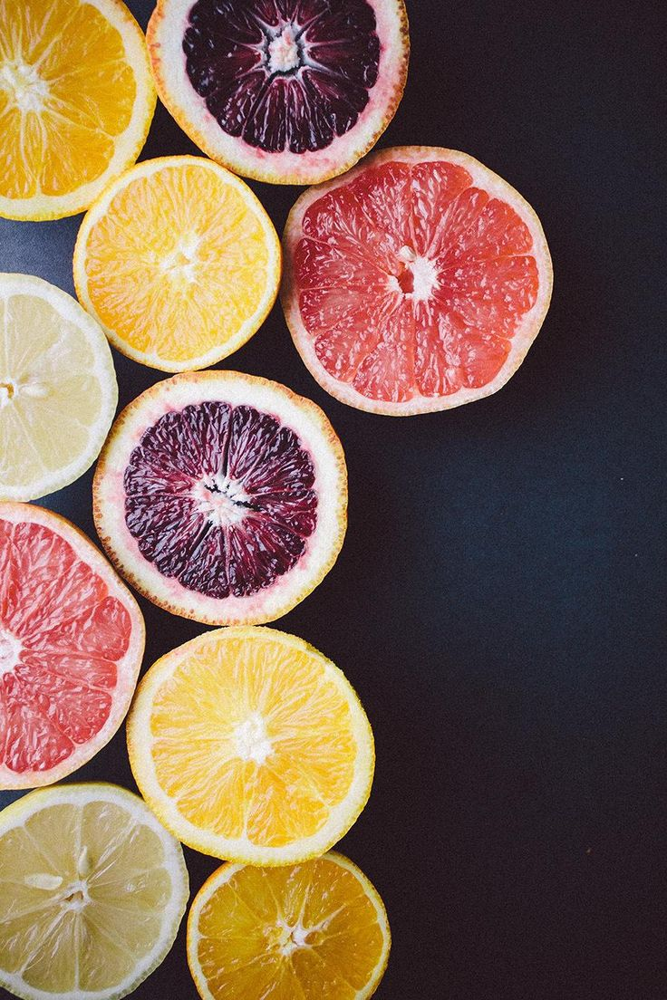 color palette inspiration for a summer wedding - hues of citrus