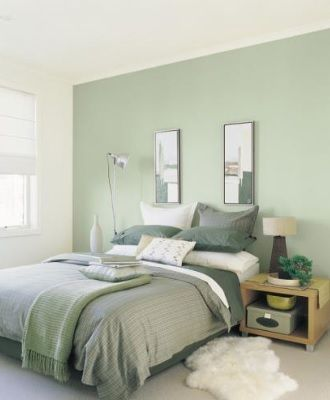Soft Blue Green Paintright Colac Green Interior Colour