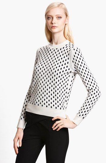 KENZO 'Rain Drop' Jacquard Sweater   Nordstrom. I'm unreasonably into this sweater.