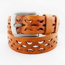 Resultado de imagen para perforated leather belt