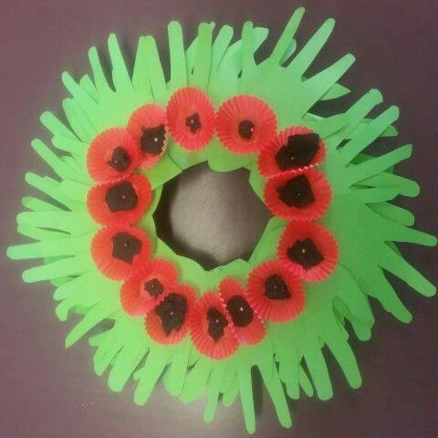 how to make an anzac wreath