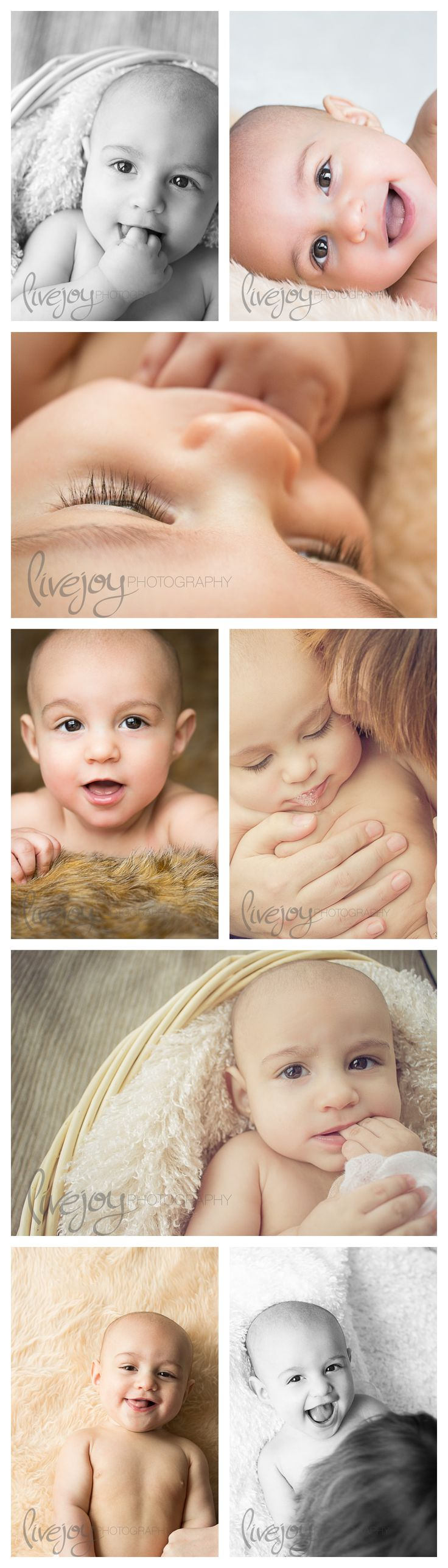 6 Month Photography Session / Six Month Baby Photography #LiveJoyPhotography
