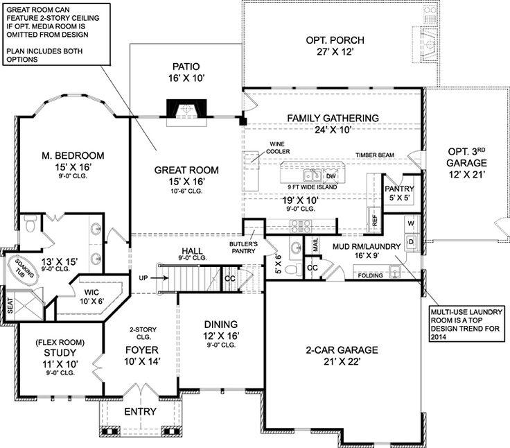 158 best Floor Plans images on Pinterest