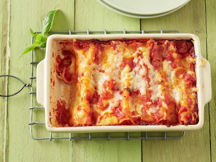 Cannelloni mit Frischkäsefüllung