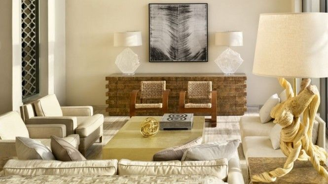 Chic Neutral Decor Living Room: Dining Rooms, Idea, Living Rooms, Resorts, Interiors Design, Interiordesign, Viceroy Anguilla, Kelly Wearstler, Hotels