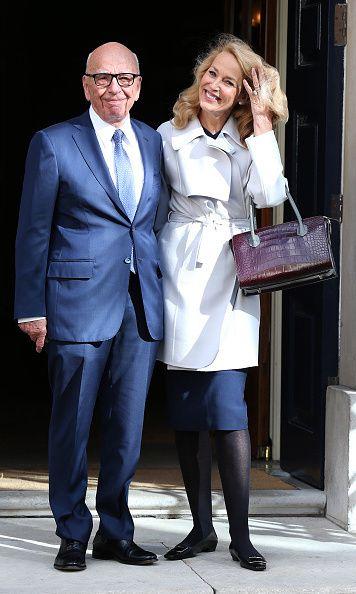 Rupert Murdoch and Jerry Hall: Their love story