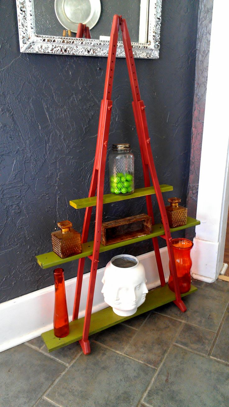 Crutch Shelf! Made by me for LOFT HOUSE!