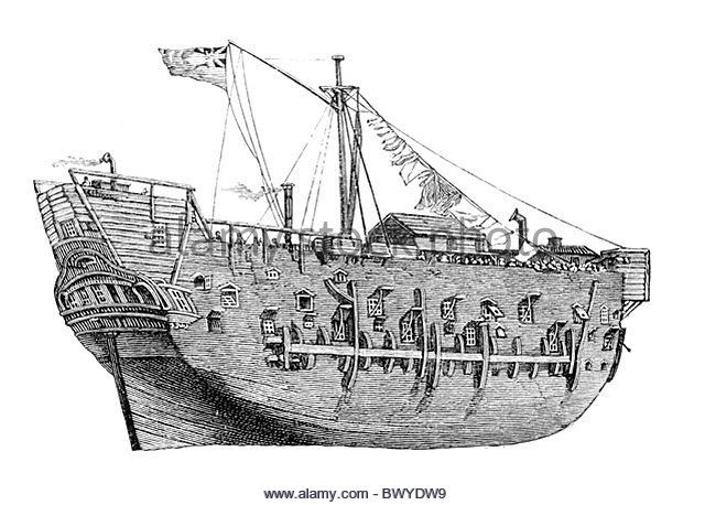 HMS Discovery, the lead ship in George Vancouver's exploration of the west coast of North America between 1791 - Stock Image