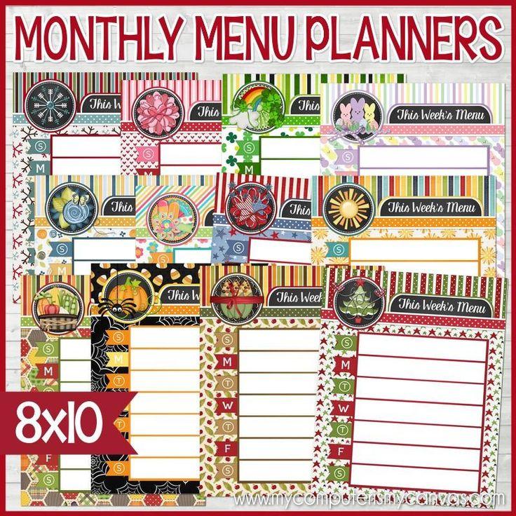 Best 25+ Weekly menu planners ideas on Pinterest Meal planner - menu for the week template