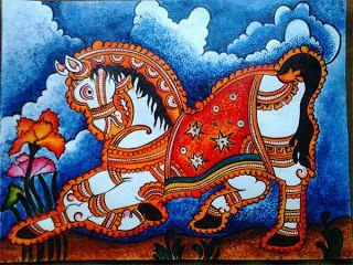 Daffodil Art and Craft: Kerala Mural Painting Workshop