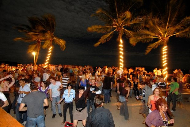 Full Moon Party at Magnetic Island, Australia....