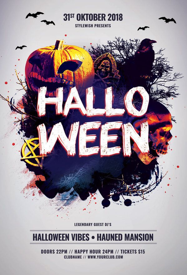 Halloween Flyer By StyleWish Download The PSD Design For 9 At Graphicriver