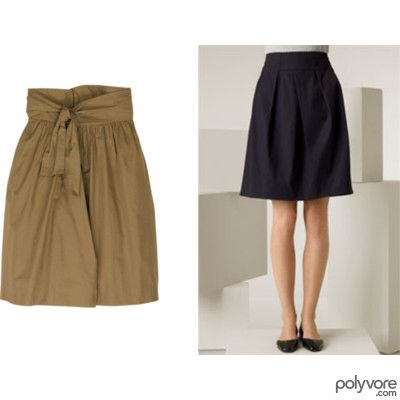 pictures of best skirt styles for pear shaped women | Skirts for pear shape
