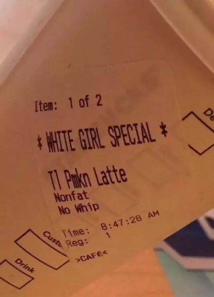 White girl special