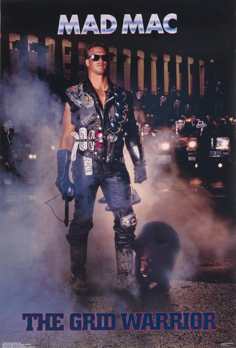 The only thing that stands between the world and complete annihilation is Jim McMahon's mullet.