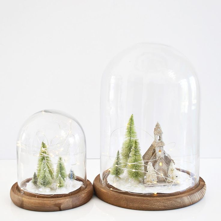 Amish Village Simple Christmas Decorations | AllFreeHolidayCrafts.com