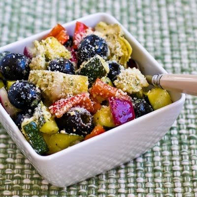 Recipe for Marinated Zucchini Salad