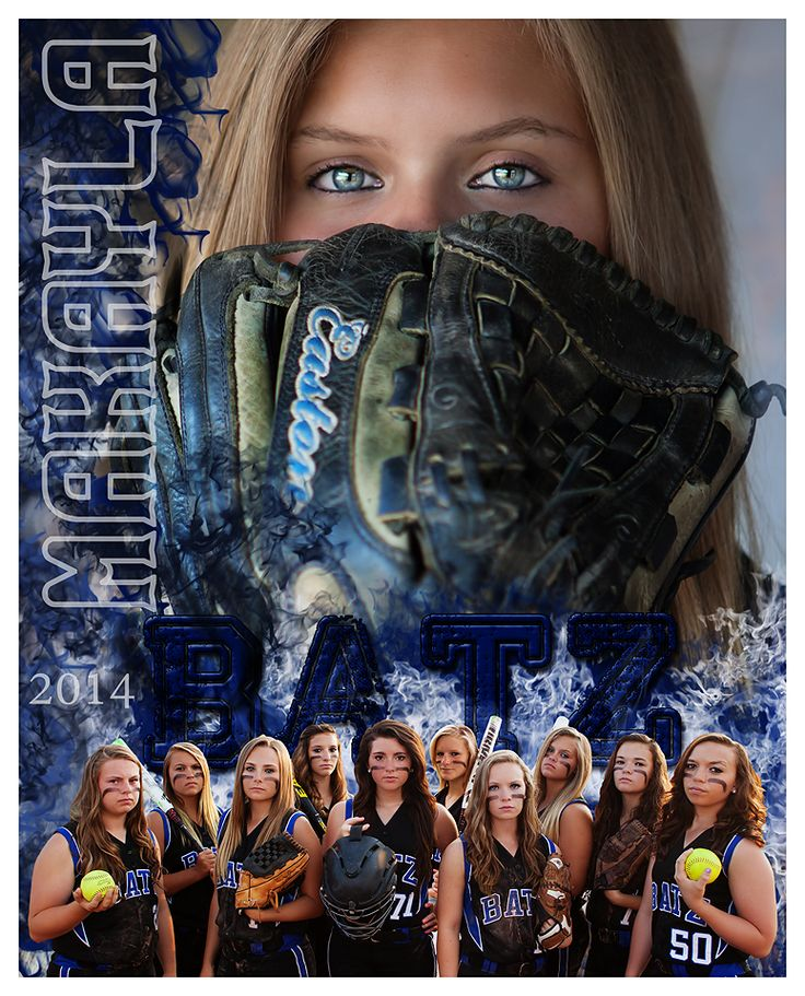 Softball, team photo, memory mate, composite, team and individual www.shawnamariephotography.com