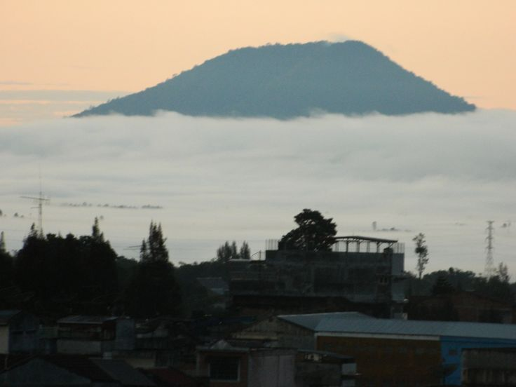 Mt. Sinabung prior to recent eruptions