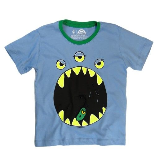 f8f761966e277 Camiseta Infantil Monstro - Savannah Kids
