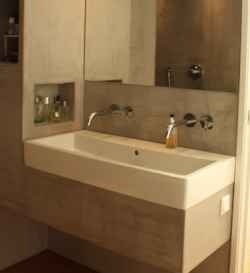 wide bathroom sink two faucets duravit meter wide trough sink from buil come trough 24705
