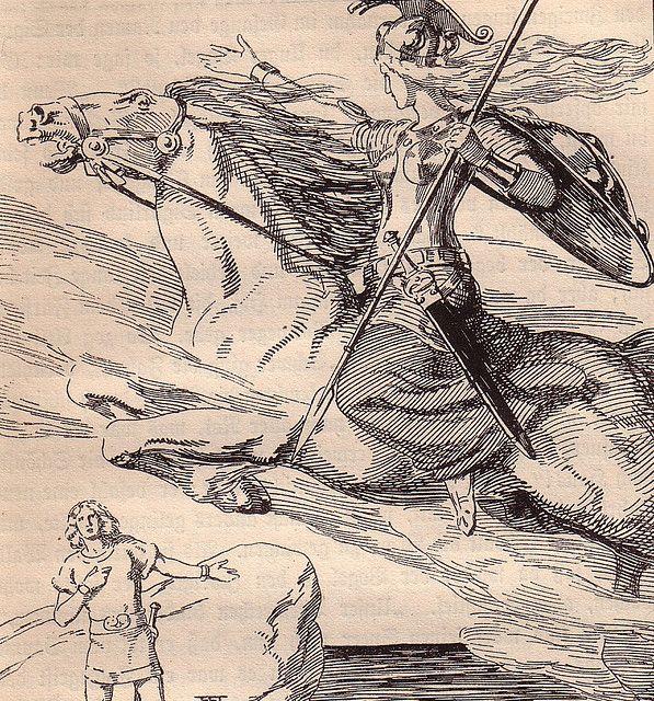 Franz Staffen, Die Edda Germanische Götter, 1920