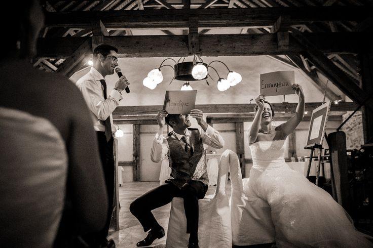 Jeu soirée de mariage aux Portes des Iris